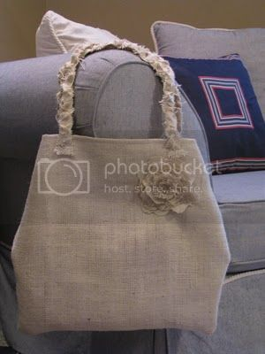 UnReMarthable Burlap Bag