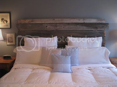 Barnwood Headboard