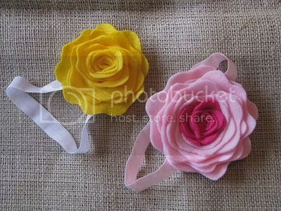 Felt Flower Headband